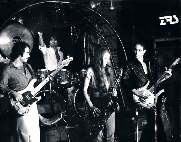 Even Steven Levee on stage with the ZRS Band (1982) Hudson Valley New York